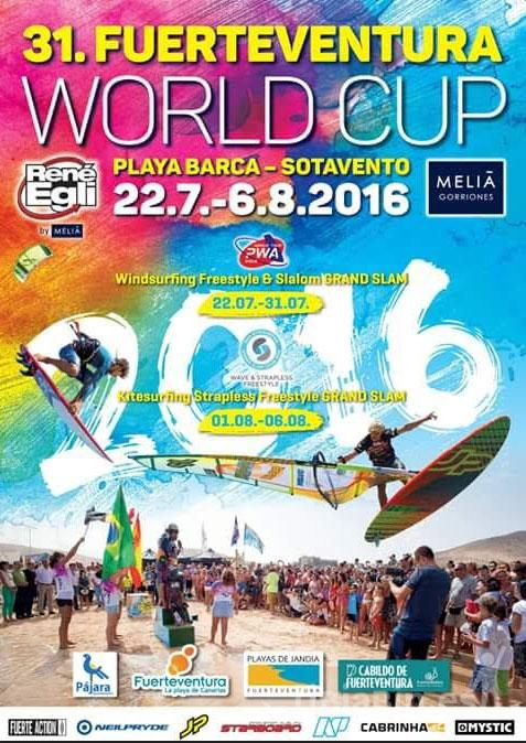Cartel World Cup Playa Barca – Sotavento