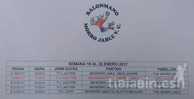 Cuadrante BM Morro Jable VC
