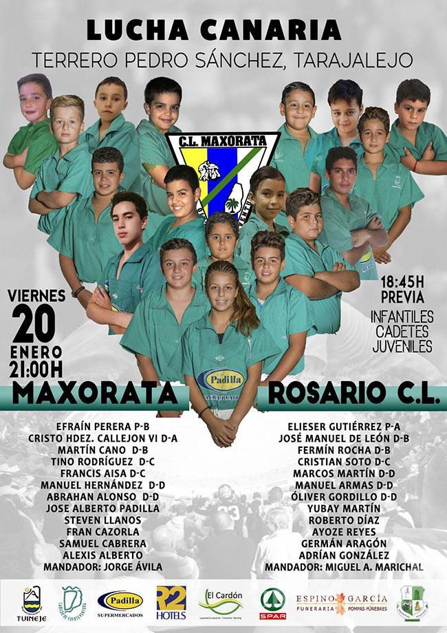 Cartel Maxorata – Rosario