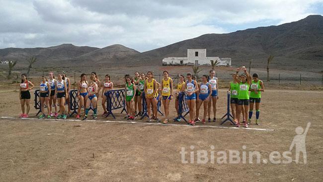 Soberbia organización Campeonato de Canarias de Campo a Través en Edad Escolar