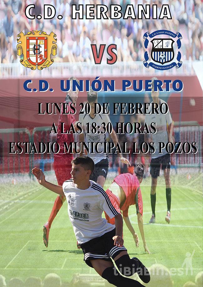 Cartel CD Herbania – CD Unión Puerto