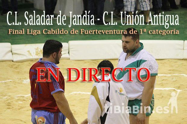 C.L. Saladar de Jandía (12) – C.L. Unión Antigua (11)(FINAL)