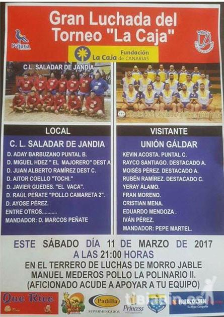 El C.L. Unión Gáldar se traslada a Morro Jable para enfrentarse al Saladar de Jandía