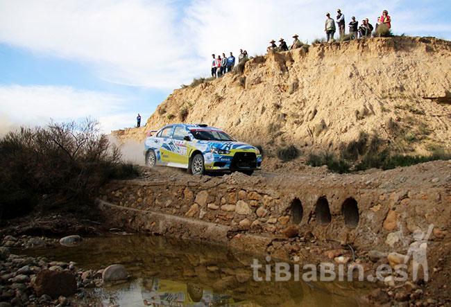 Gustavo Sosa y Yeray Mujica, segundos en su categoría en el Rally Tierras Altas de Lorca