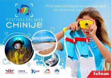 El Festival del Mar Chinijo se promociona en la Dive Travel Show 2017 de Madrid