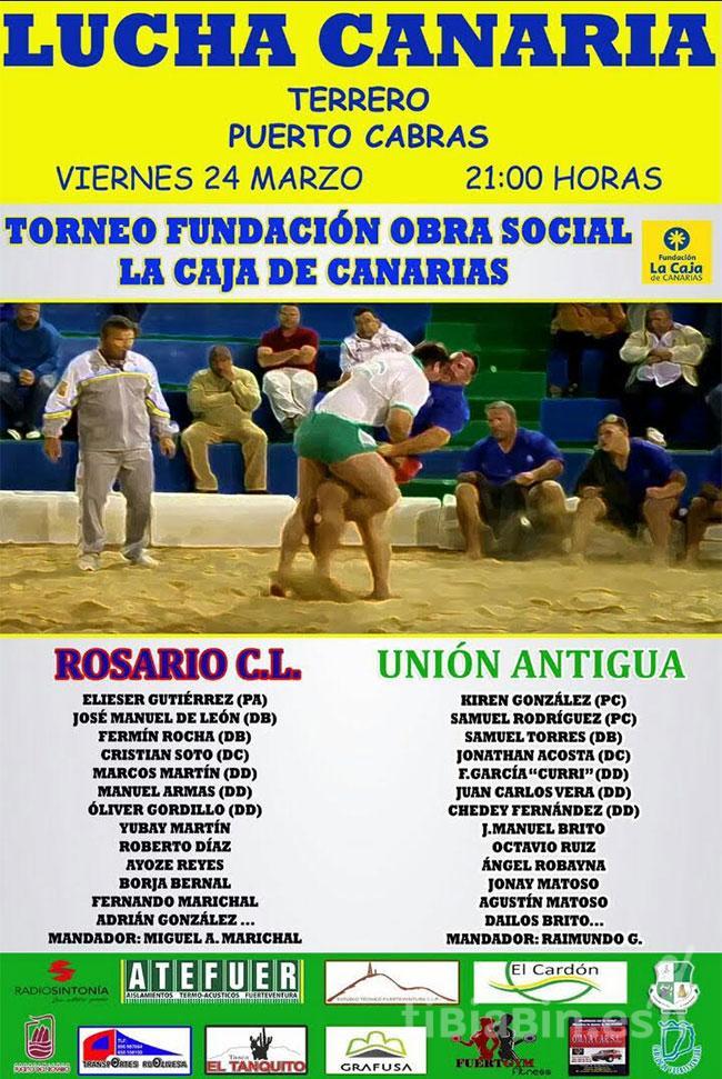 Cartel Rosario CL – CLU Antigua