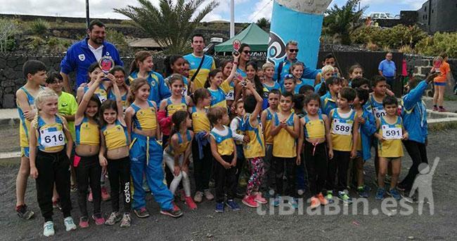 Gran éxito de la Escuela de Atletismo de Morro Jable en el Campeonato de Canarias de Cross de Menores