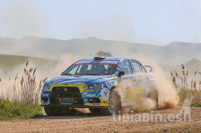 Primer abandono de la temporada para Gustavo Sosa en el Rally Circuito de Navarra
