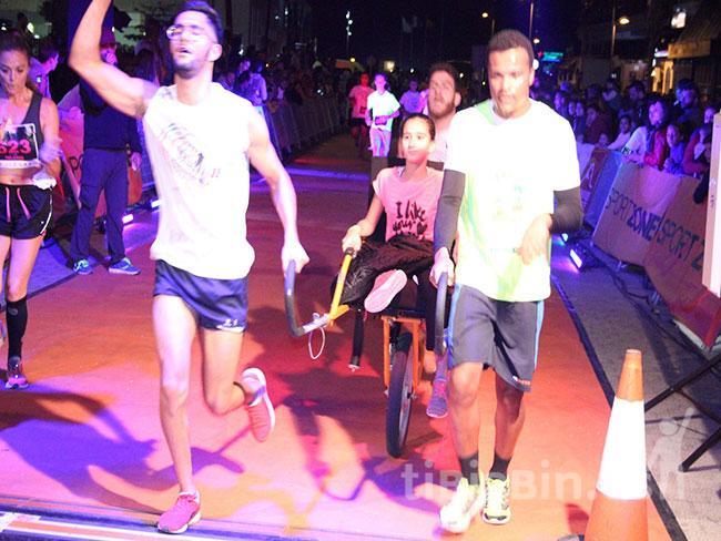 """La Disco Night Urban Race """"Ciudad de Arrecife"""" con el deporte adaptado"""