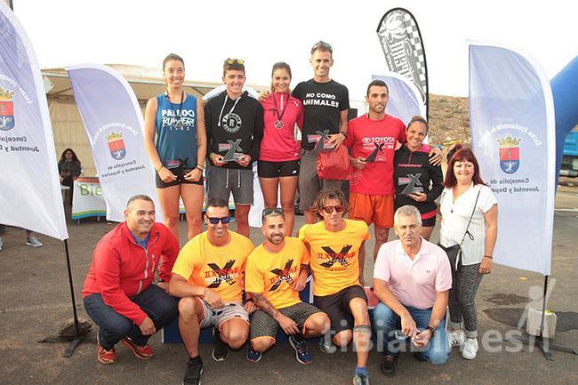 """Alberto Peláez y Fayna Pérez, ganadores de la Xtreme Running """"Ciudad de Arrecife"""""""