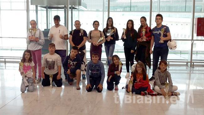 Los miembros del C.A.M 'El Jable' obtienen grandes resultados en el Campeonato de España de Katas y Kumite