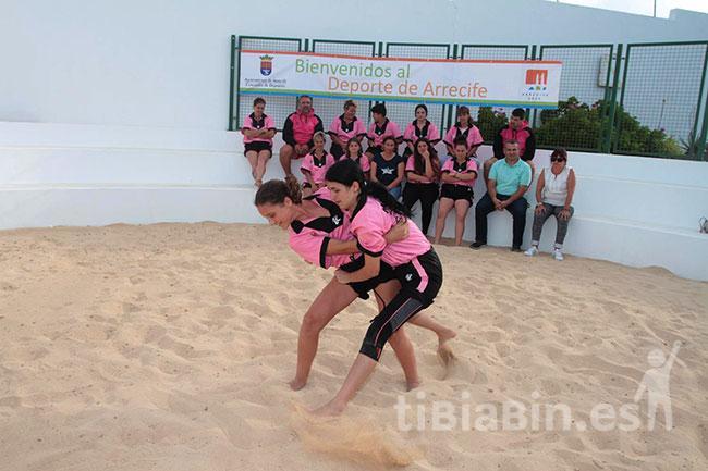 Deportes Arrecife recupera el Terrero de Lucha Estrella Machín en su apuesta por dinamizar los barrios de la capital