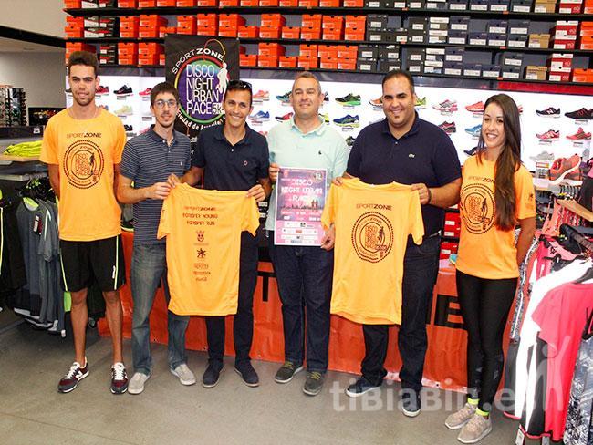 """Presentada la camiseta oficial de la Disco Night Urban Race """"Ciudad de Arrecife"""""""
