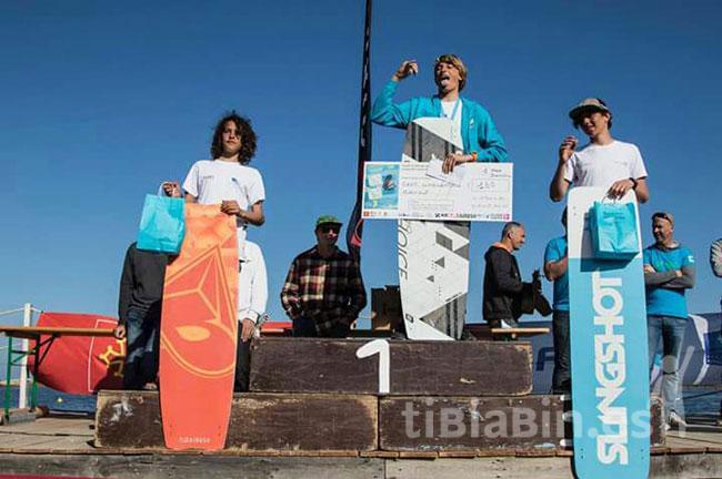 Excelentes resultados del Club Hijos del Mar de Costa Calma en el Campeonato del Mundo de Kiteboarding y Boardercross