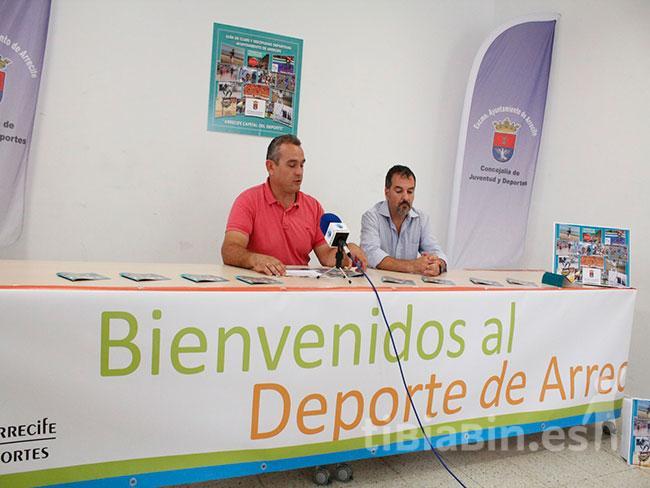 Deportes Arrecife distribuirá 3.500 ejemplares de la Guía de Clubs y Disciplinas Deportivas