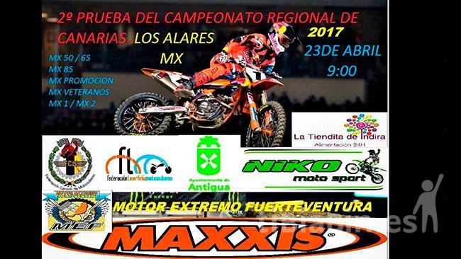 II Prueba del Campeonato Regional de Motocross este domingo en el Circuito de Los Alares