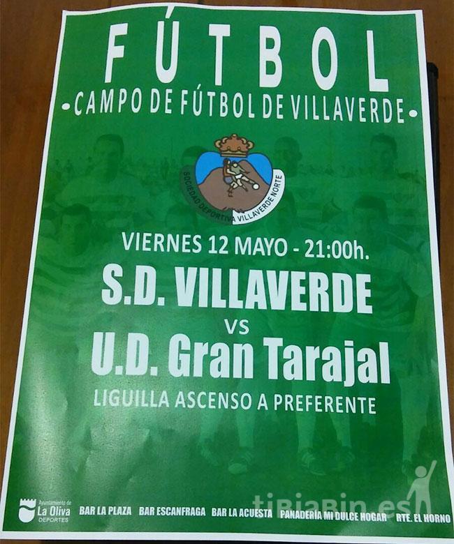 Cartel SD Villaverde Norte – UD Gran Tarajal