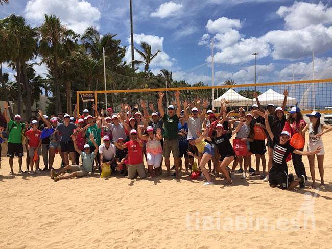 La Playa del Castillo acoge el Torneo de Voley Playa