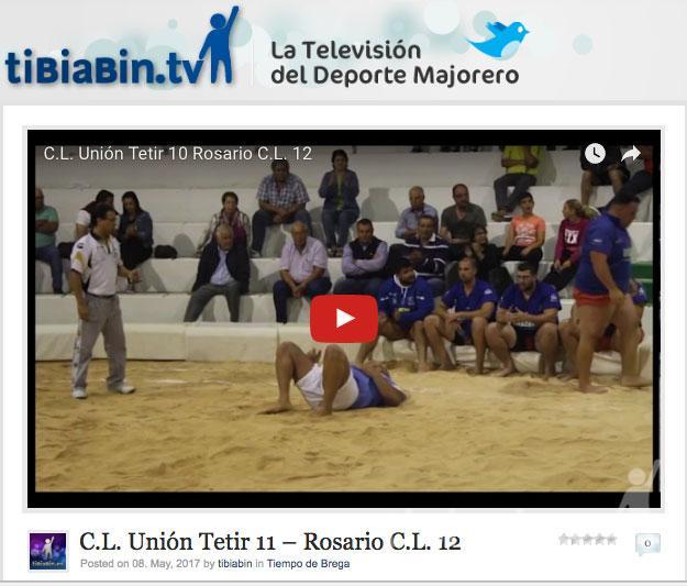 Vídeo resumen C.L. Unión Tetir 11 – Rosario C.L. 12