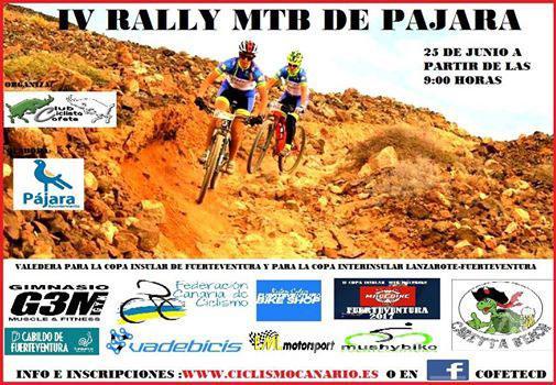 El Club Deportivo Cofete abre el plazo para inscribirse en el IV Rally MTB de Pájara