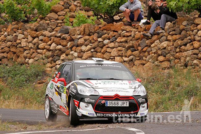 Falcón y Peñate, juntos de nuevo en el 50 Rally de Ourense