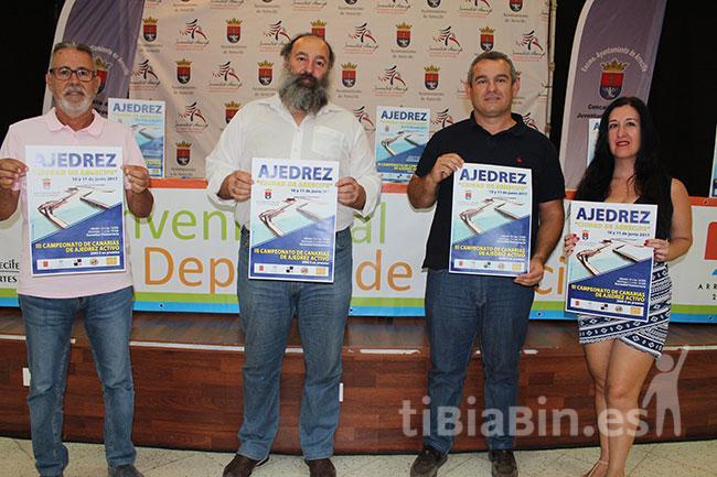 """Más de 80 jugadores participarán en el III Torneo de Ajedrez """"Ciudad de Arrecife"""""""