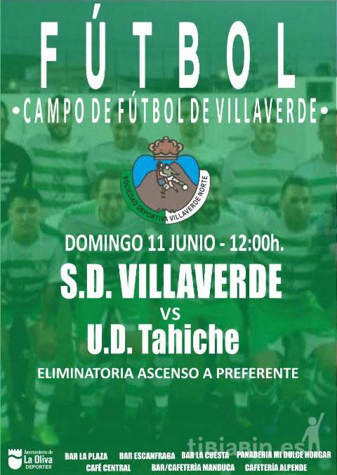 Cartel CD Villaverde Norte – CD Tahíche