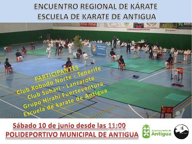 Jovencísimos karatekas de tres islas participan en la Concentración Regional de Kárate en Antigua