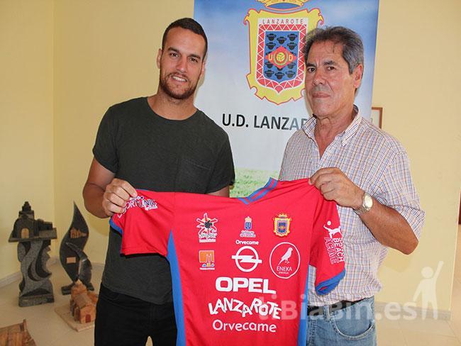 El mediapunta Alex Yunes regresa a la UD Lanzarote para la temporada 2017/2018