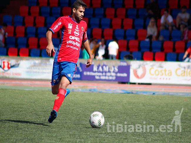 El centrocampista Marcos Cabrera jugará su novena temporada en la UD Lanzarote