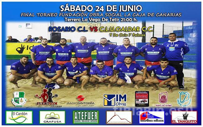 Cartel Final Torneo Fundación Obra Social La Caja de Canarias