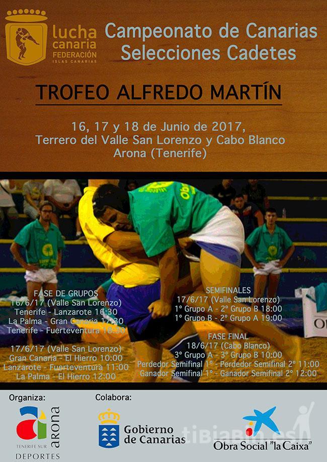 """Campeonato de Selecciones Cadetes """"Alfredo Martín"""