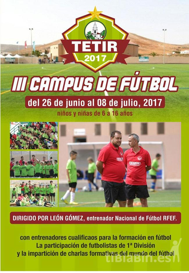 Cartel Campus U. Tetir