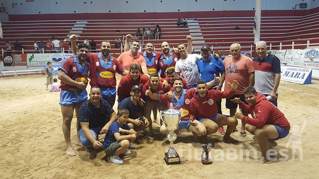 El Club de Lucha Saladar de Jandía se proclama Campeón de Canarias de Primera Categoría