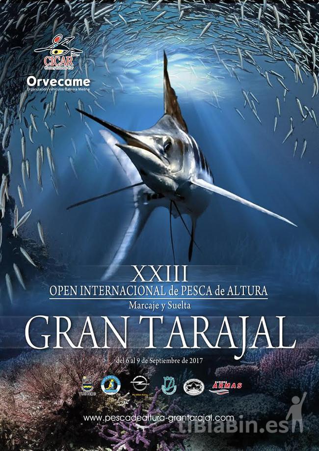 Cartel XXIII Open Internacional de Pesca de Altura de Gran Tarajal