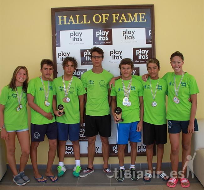 El Club de Natación Las Escuevas presente en Los Campeonatos de España de Natación