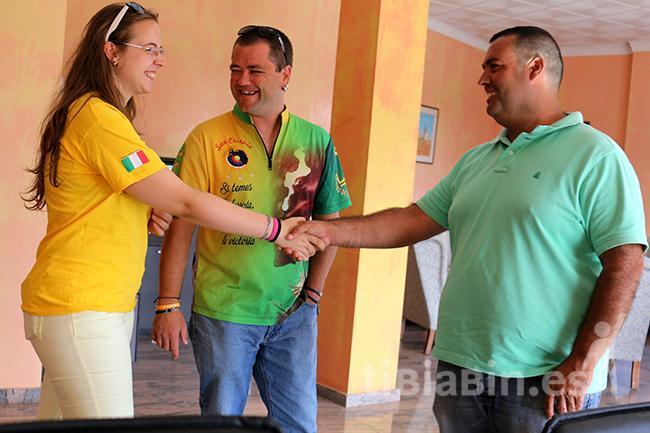 Antigua da la bienvenida a la campeona italiana de Tiro con Arco Alessia Tropeano