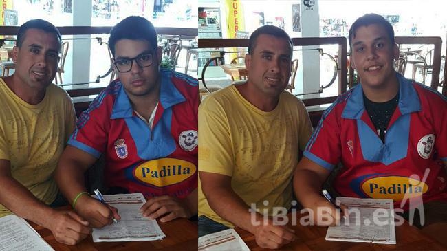 Los juveniles Fernando Rodríguez y José Antonio Monzón, nuevos talentos para el Saladar