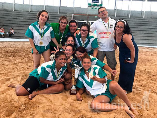 El Benchomo se proclamó Campeón de Canarias de lucha femenina