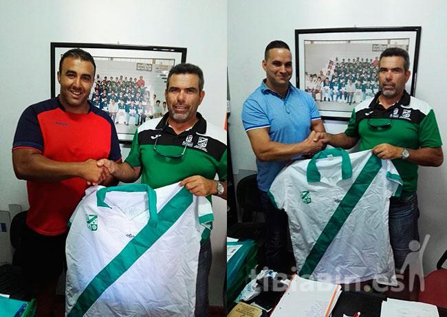 Ya es oficial los fichajes de Roberto Berriel y Tino Rodríguez por el Unión Antigua