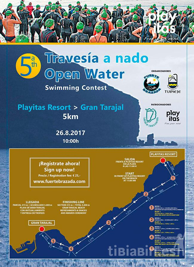 Travesía a nado Open  Water (Playitas Resort – Gran Tarajal)