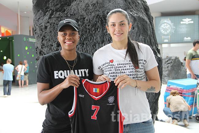 Keira Robinson y Ornella Santana ya están en Lanzarote