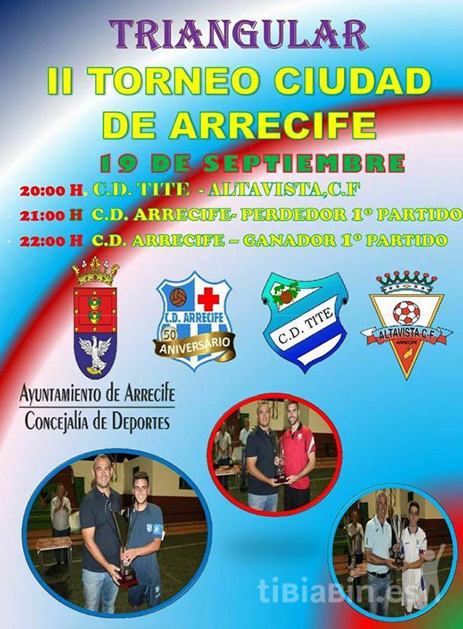 """Arranca el II Torneo de Fútbol Regional """"Ciudad de Arrecife"""""""