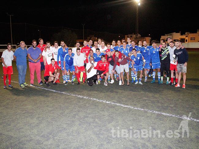 El CD Tite conquista el triangular II Torneo de Fútbol Ciudad de Arrecife