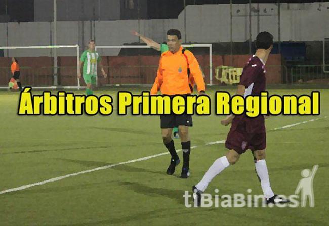 Árbitros 2ª Jornada Liga Regional
