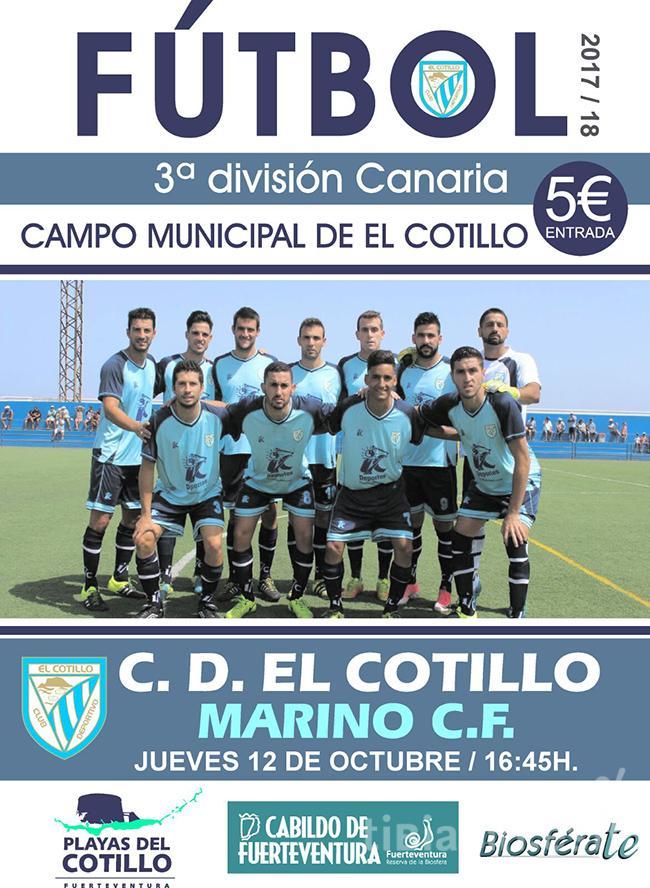 Cartel CD Cotillo – CD Marino