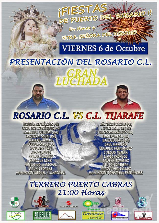 Cartel Presentación Rosario C.L.