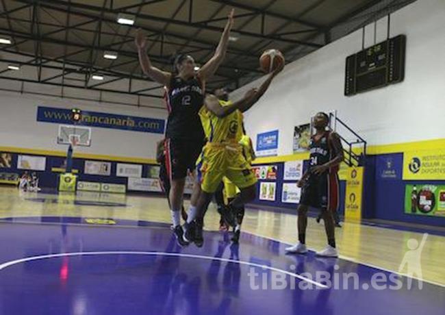 El SPAR Gran Canaria logra una cómoda victoria ante el Magec Tías (79-58)