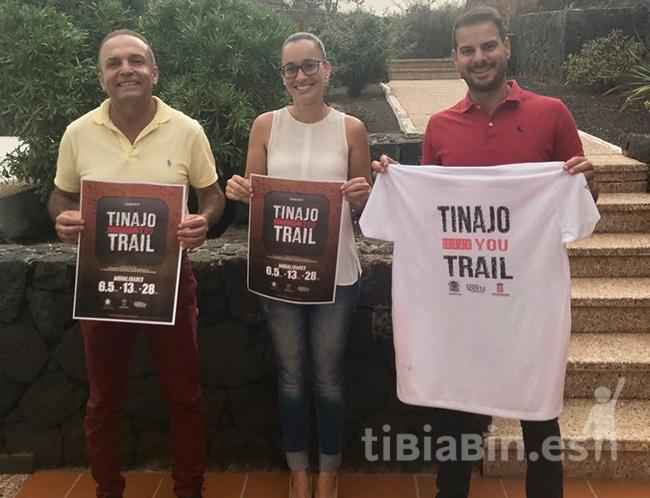 Más de 200 corredores participarán en la primera edición de la Tinajo YouTrail