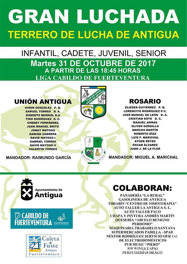 Cartel Unión Antigua – Rosario